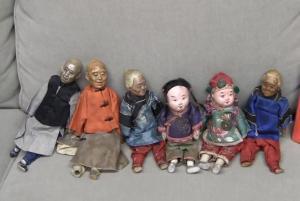 Qing Dynasty era dolls